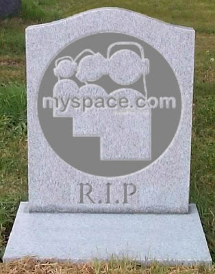 MySpace is Dead