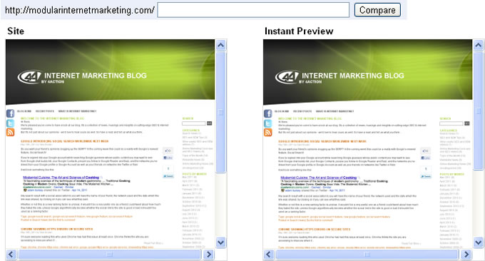 Webmaster Tools instant preview troubleshooter