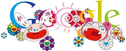 Takashi Murakami Summer Solstice Google Doodle