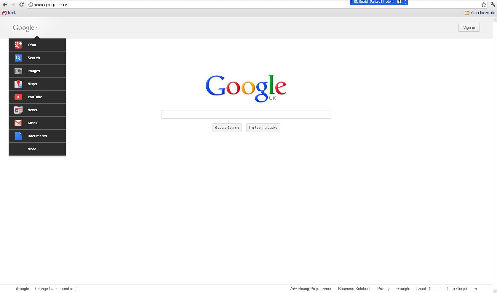 new google layout 2011 internet marketing blog