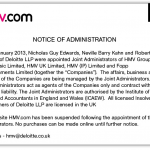 deloitte-HMV-administrators